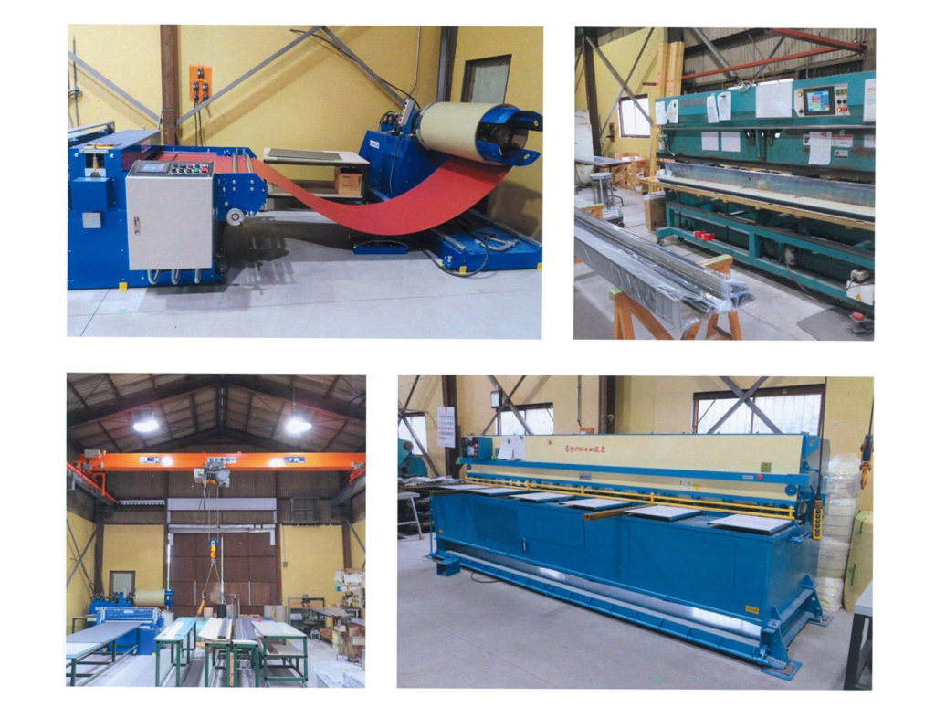 折版機 アンコイラ 製造部