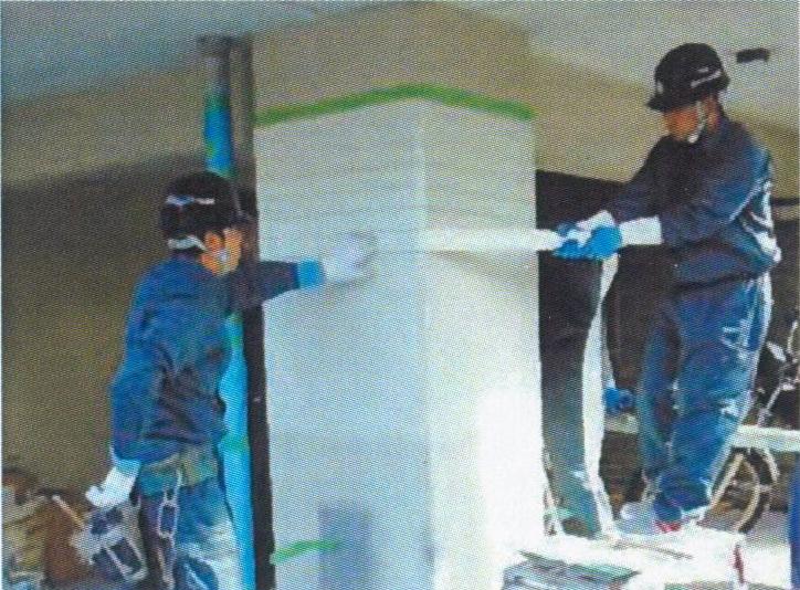 耐震SRF工法 包帯補強